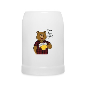 Chope beer bear or both? Logo devant - Chope