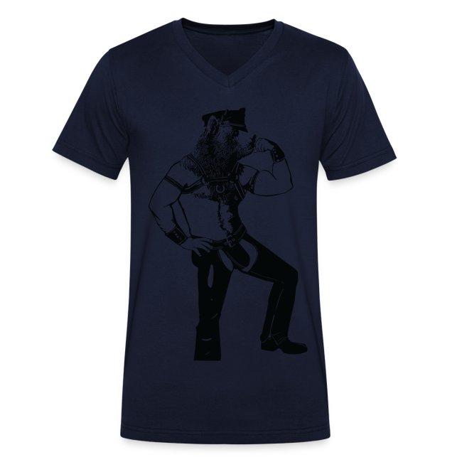 T-shirt leather bear