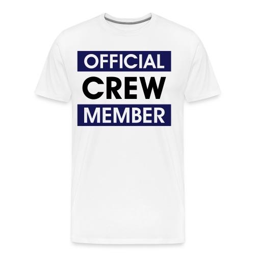 crew - Premium-T-shirt herr