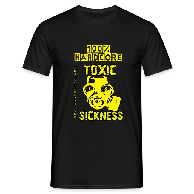 NEW 100% Hardcore Mens T-shirt