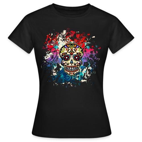 skull top - Women's T-Shirt