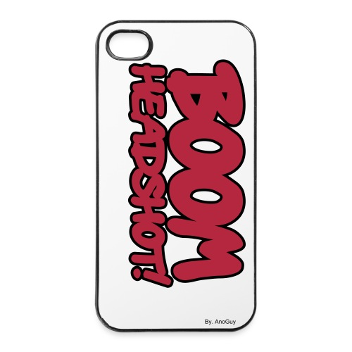 Iphone cover: Boom Gamer - By AnoGuy - iPhone 4/4s Hard Case