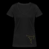T-Shirts ~ Frauen T-Shirt mit V-Ausschnitt ~ Artikelnummer 25495044