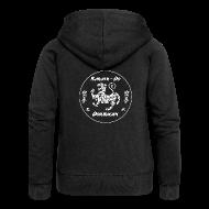 Pullover & Hoodies ~ Frauen Premium Kapuzenjacke ~ Artikelnummer 25495941