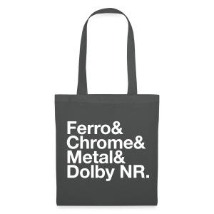 Ferro & Chrome & Metal & Dolby NR. - Tote Bag