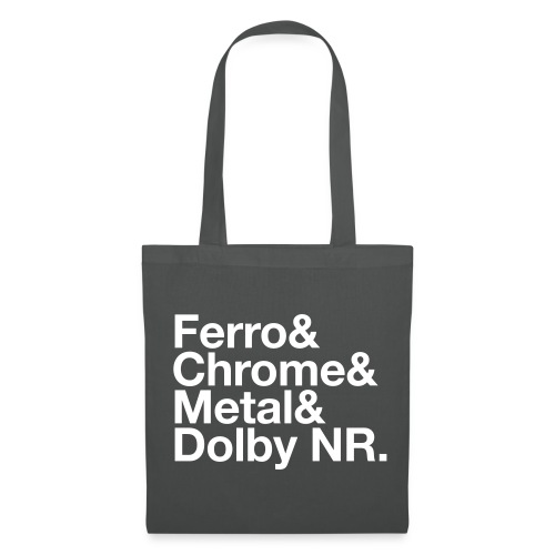 Ferro & Chrome & Metal & Dolby NR. - Tote Bag