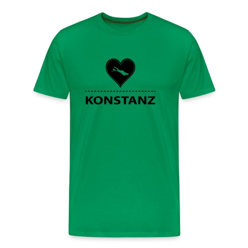 MEN Konstanz flex schwarz - Männer Premium T-Shirt