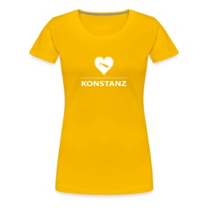 WOMEN Konstanz flex weiß - Frauen Premium T-Shirt