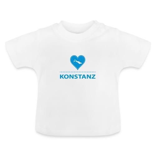 BABY Konstanz flex blau - Baby T-Shirt