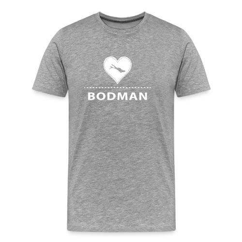MEN Bodman flex weiß - Männer Premium T-Shirt