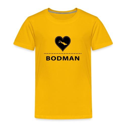 KIDS Bodman flex schwarz - Kinder Premium T-Shirt