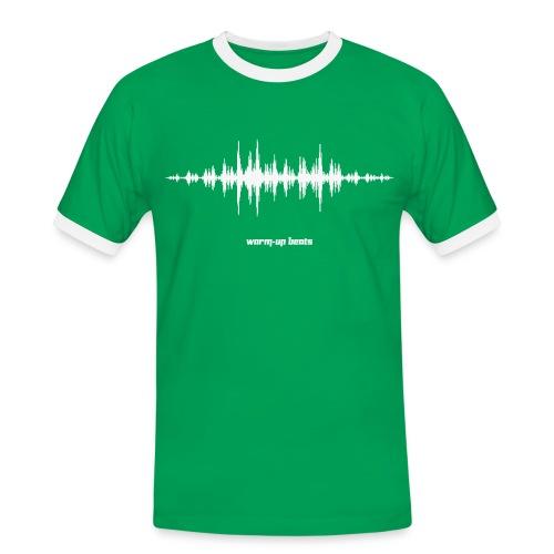 Men's Tchoukball Tshirt Warm-up Beats | Tchouka.ch  - Men's Ringer Shirt