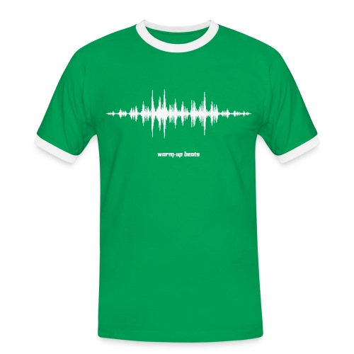 Men's Tchoukball Tshirt Warm-up Beats   Tchouka.ch  - Men's Ringer Shirt