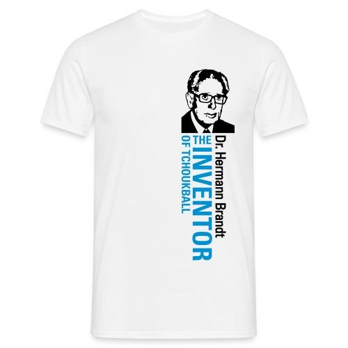 Men's Tchoukball Tshirt Hermann Brandt | Tchouka.ch  - Men's T-Shirt