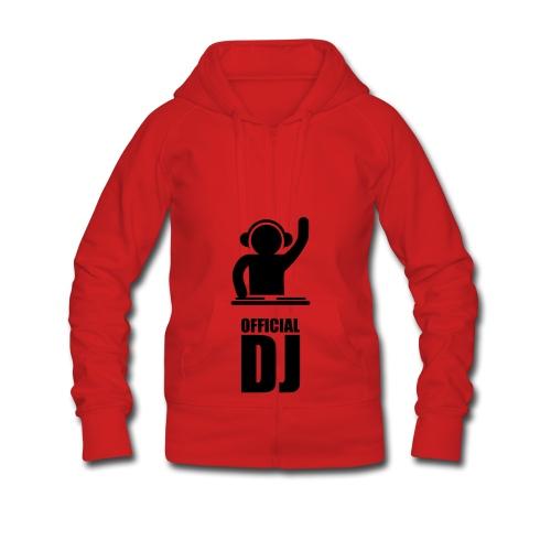 official dj - Women's Premium Hooded Jacket