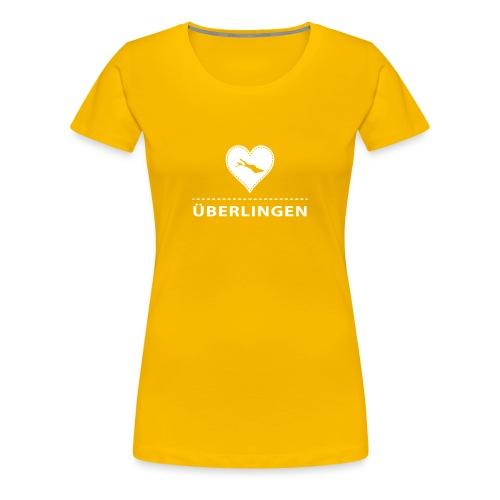 WOMEN Überlingen flex weiß - Frauen Premium T-Shirt