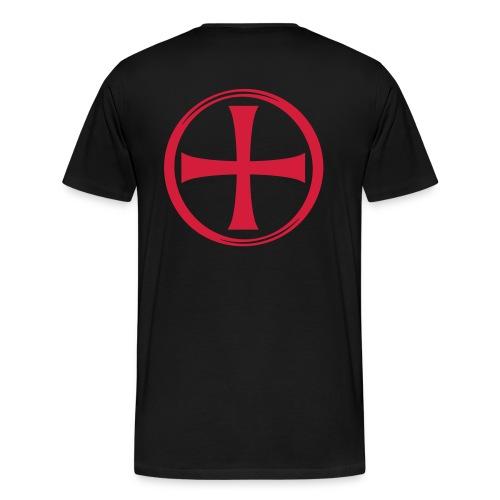 croix templier - T-shirt Premium Homme