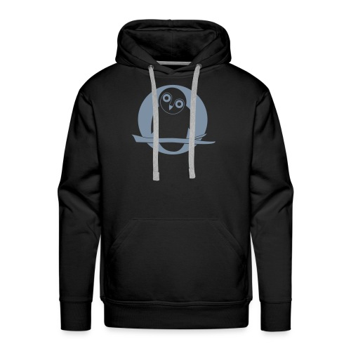 tier t-shirt eule uhu mond owl eulen niedlich nacht - Männer Premium Hoodie