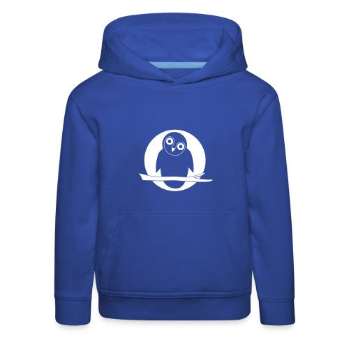 tier t-shirt eule uhu mond owl eulen niedlich nacht - Kinder Premium Hoodie