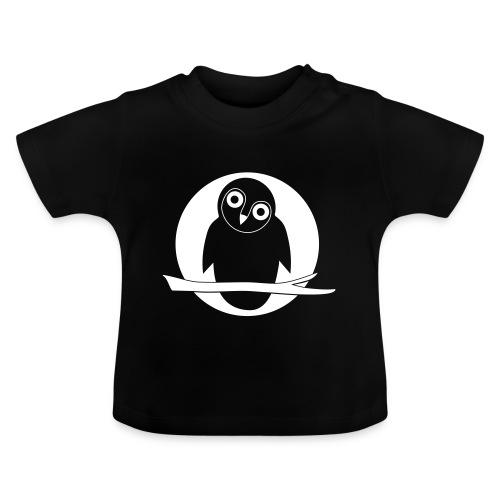tier t-shirt eule uhu mond owl eulen niedlich nacht - Baby T-Shirt
