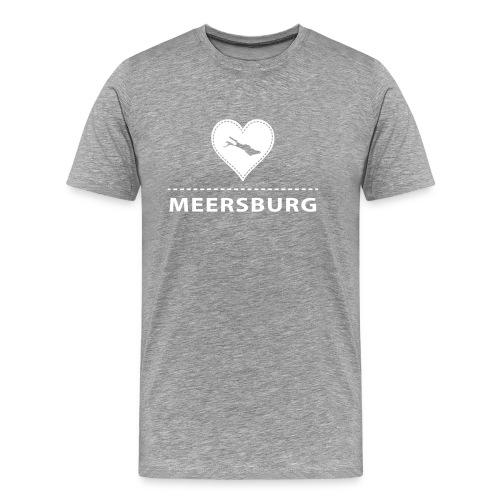 MEN Meersburg flex weiß - Männer Premium T-Shirt