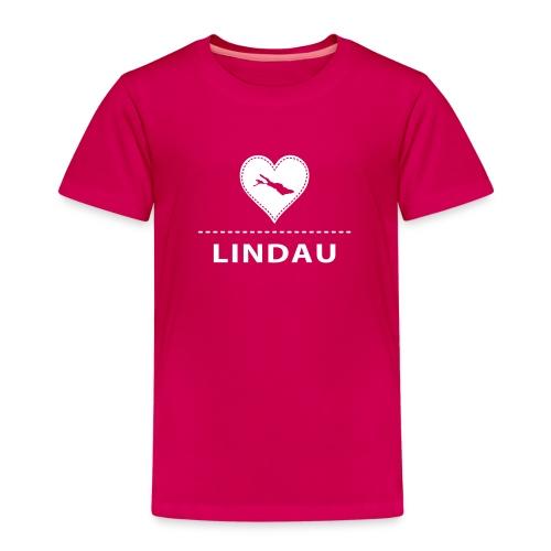 KIDS Lindau flex weiß - Kinder Premium T-Shirt