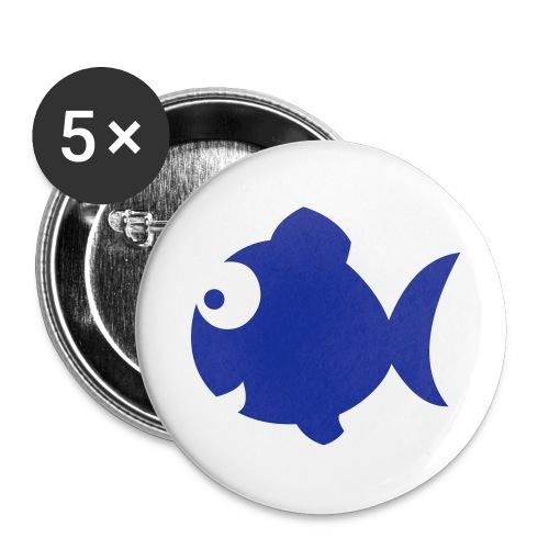rintamerkki kala - Rintamerkit isot 56 mm (5kpl pakkauksessa)