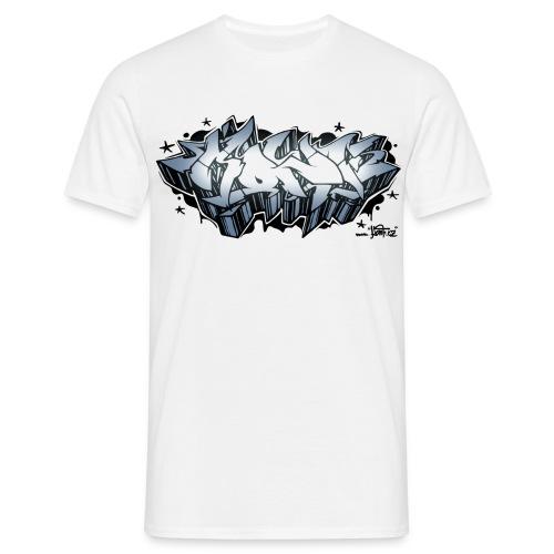 KONF - graffiti - silver - Men's T-Shirt