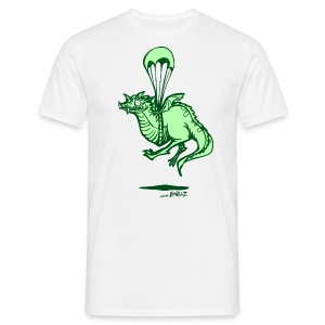 Flying Dragon - green - Men's T-Shirt