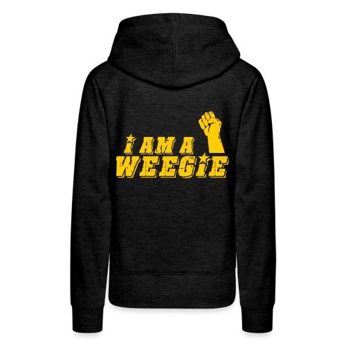 I AM A Weegie - Women's Premium Hoodie