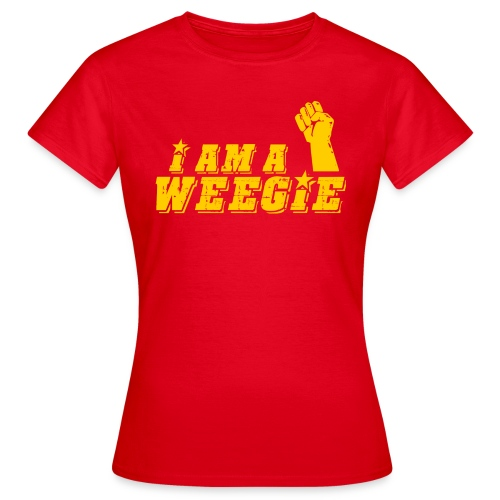 I AM A Weegie - Women's T-Shirt