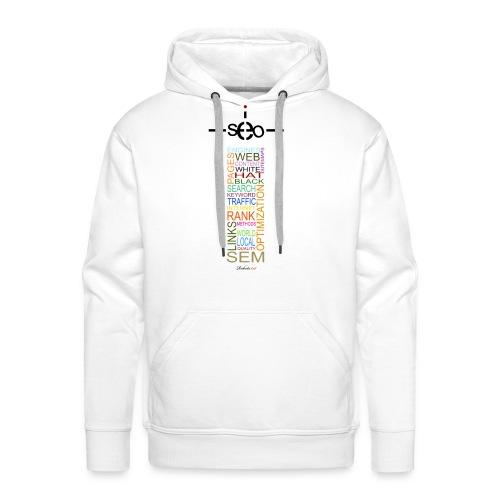 Phare SEO - Sweat-shirt à capuche Premium pour hommes