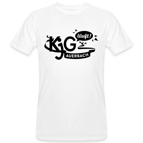 KjG läuft T-Shirt for Boys - Männer Bio-T-Shirt