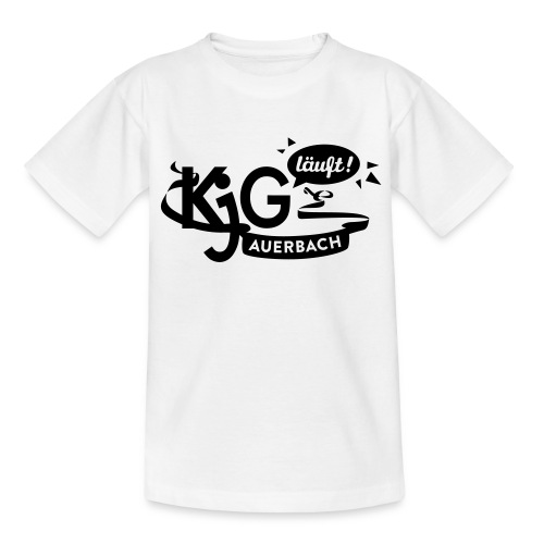 KjG läuft T-Shirt for Kids - Kinder T-Shirt