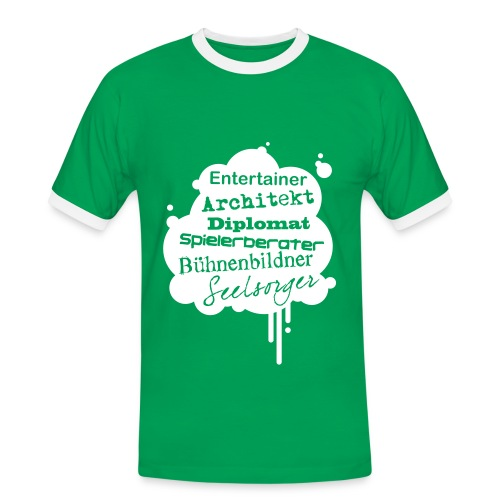 Herren-Kontrast-Shirt Motiv Architekt - Männer Kontrast-T-Shirt