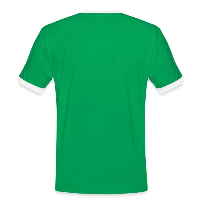 Herren-Kontrast-Shirt Motiv Architekt