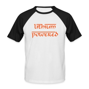 LITHIUM POWERED - T-shirt baseball manches courtes Homme