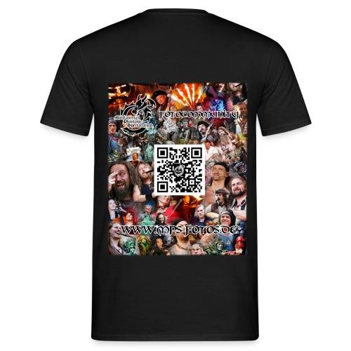 MPS-Fotos Männer beidseitig T-Shirt - Männer T-Shirt