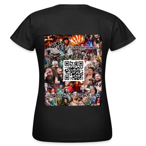 MPS-Fotos Frauen beidseitig T-Shirt - Frauen T-Shirt