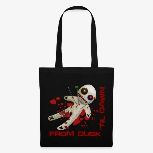 Tote Bag - Tote Bag with the From Dusk 'til Dawn Voodoo Doll logo on one side
