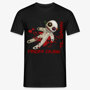 Men's T-Shirt - Superior quality tee shirt with the From Dusk 'til Dawn Voodoo Doll logo