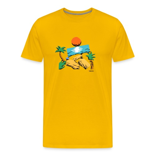 Strandbaukasten - Männer Premium T-Shirt