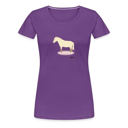Jetzt oder Pony - Frauen Premium T-Shirt