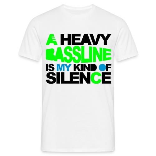 A heavy Bassline - Camiseta hombre