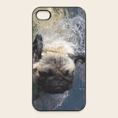 Mops schwimmt iPhone 4/4S Hard Case - iPhone 4/4s Hard Case