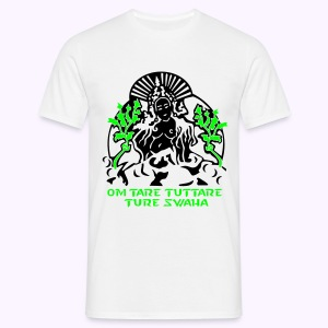 White Tara Mantra : Men Classic Shirt - Mannen T-shirt
