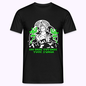 White Tara Mantra: Men Classic Shirt - Mannen T-shirt