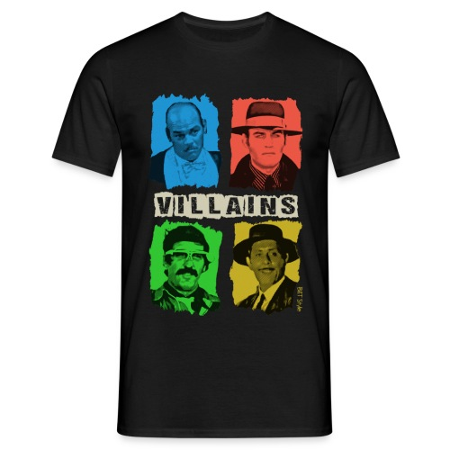 Villains - Bud & Terence Style Collection - Maglietta da uomo