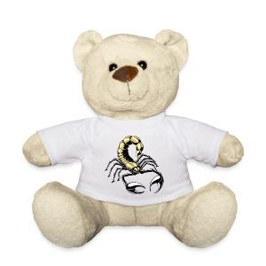 skorpion - gold - gelb - Teddy