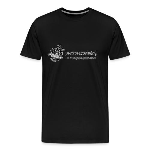 MPS-Fotos Männer beidseitig bis 5XL T-Shirt - Männer Premium T-Shirt